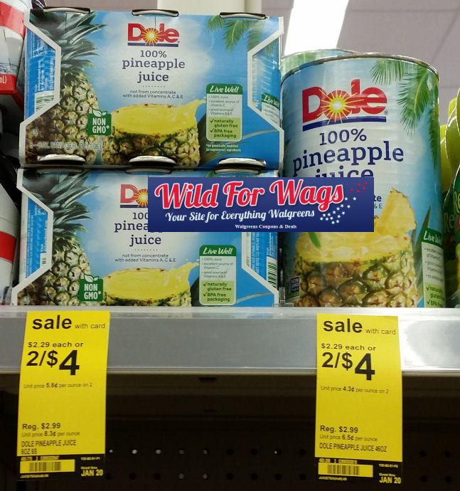 dole pineapple juice deal
