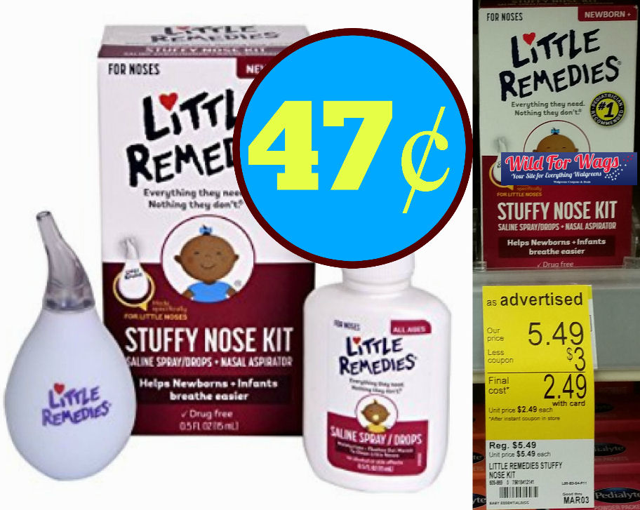 little remedies stuffy nose kit