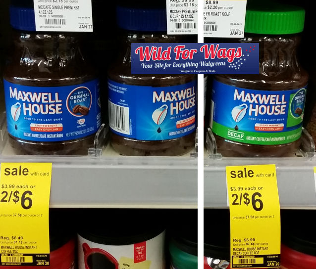maxwell house deal