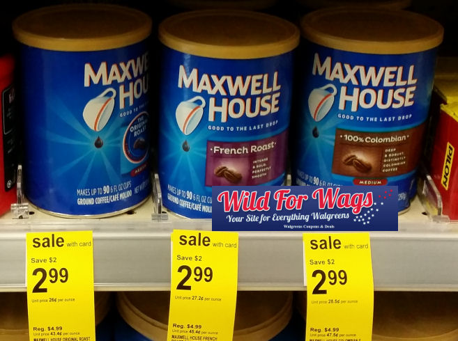 maxwell house deal
