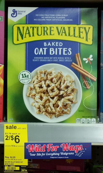 nature valley baked oat bites