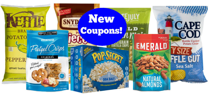 new snack coupons