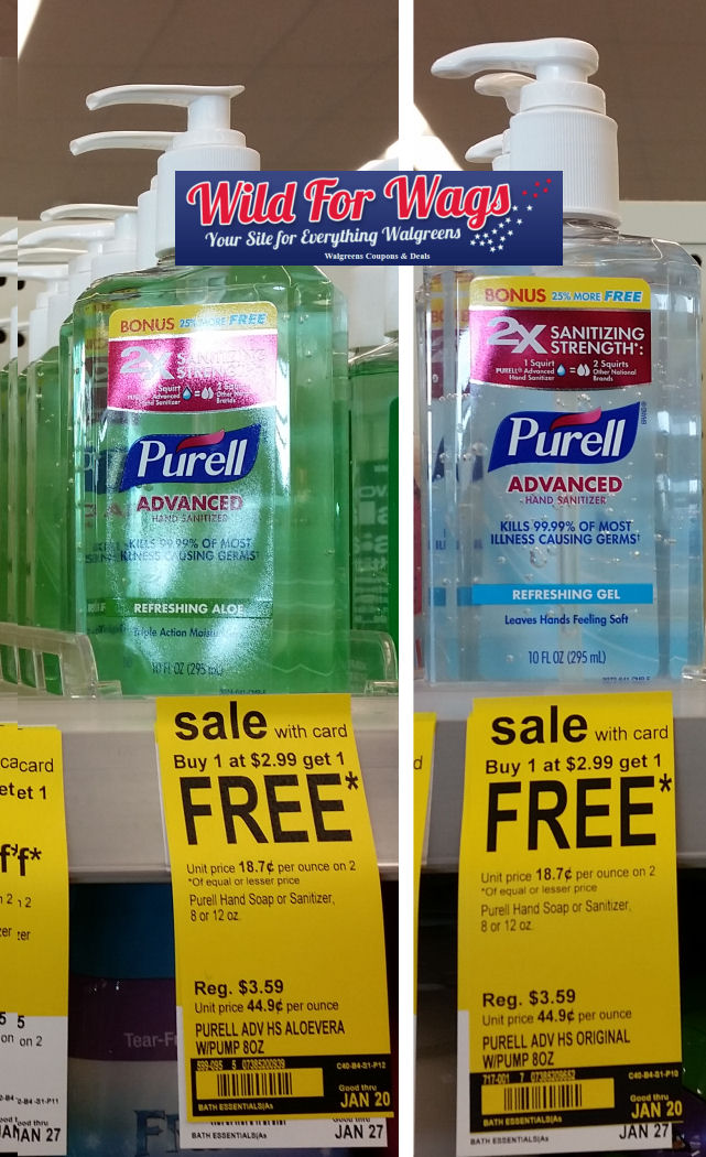 purell hand sanitizer deal