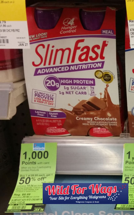 slimfast deals
