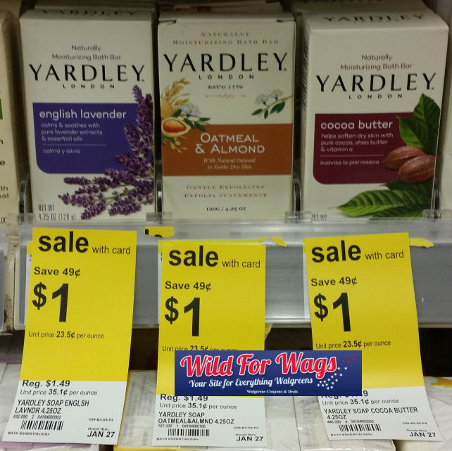 yardley deals
