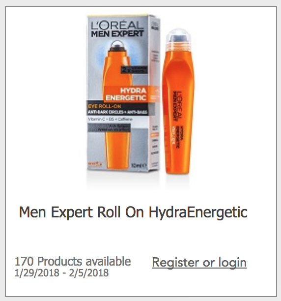 Toluna L'Oreal Men Expert