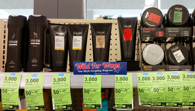 axe hair care deal