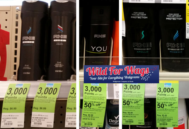 axe hair care deals