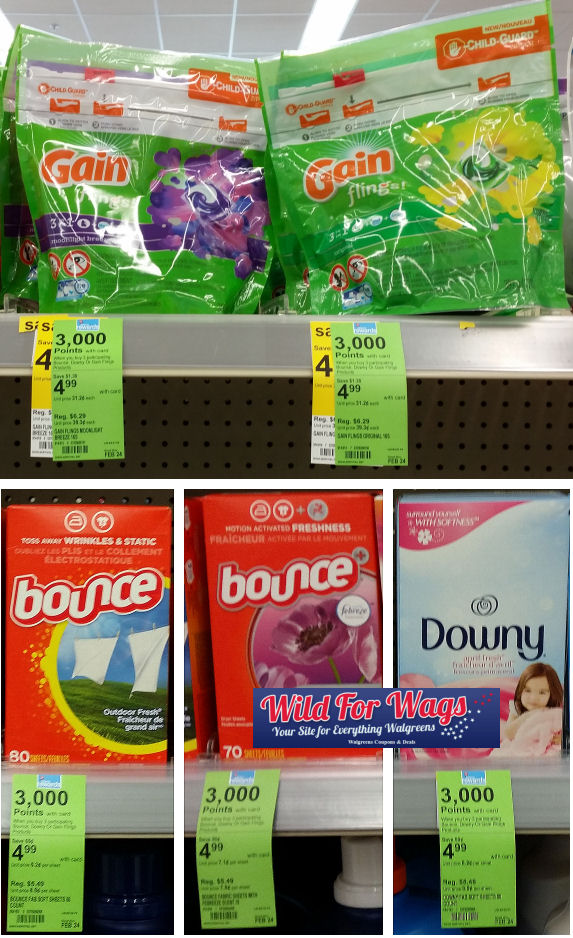 gain bounce and downy deal