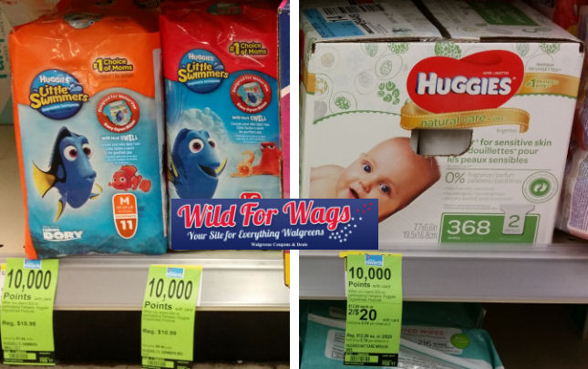 huggies little swimmers and wipes deal