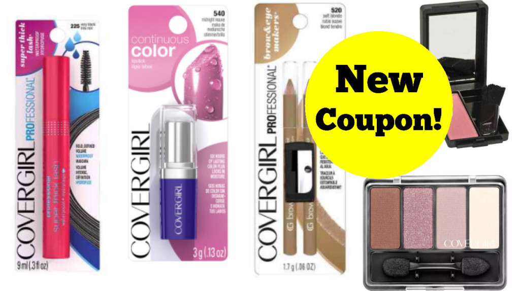 new covergirl coupon