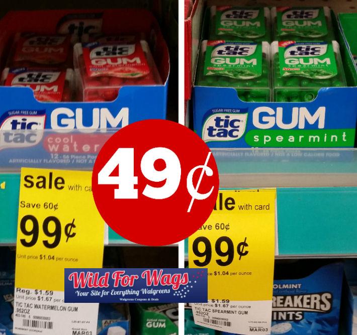 tic tac gum deal