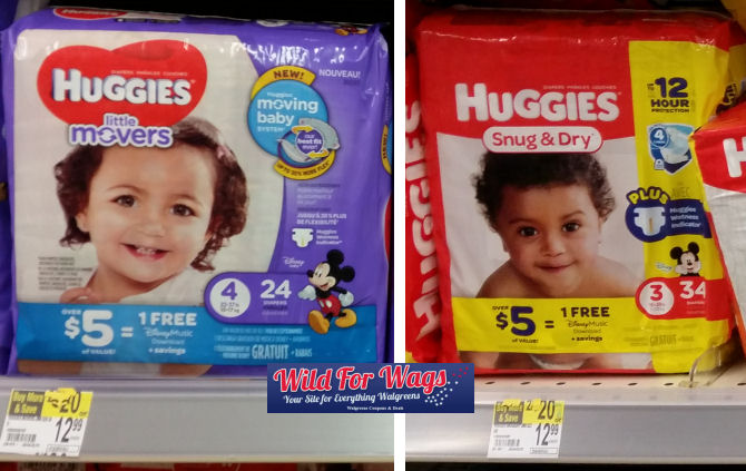 Huggies diapers deals