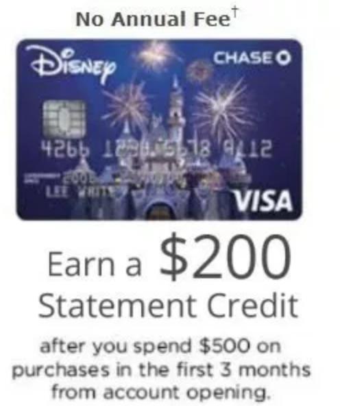 Disney Visa
