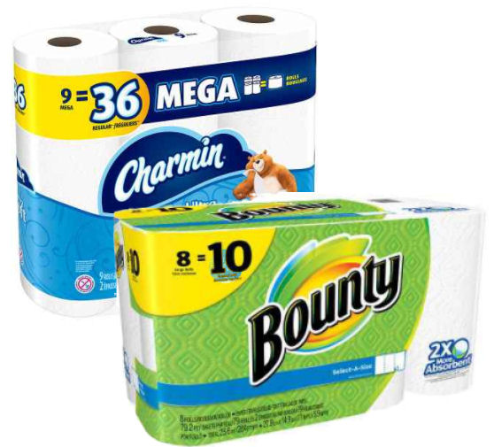 bounty and charmin deal