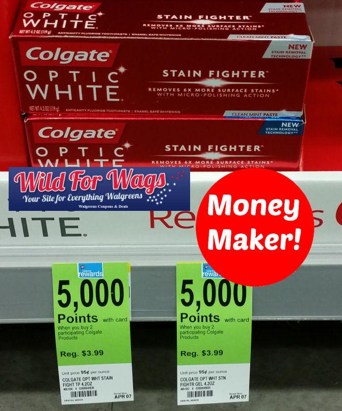 colgate optic white deals
