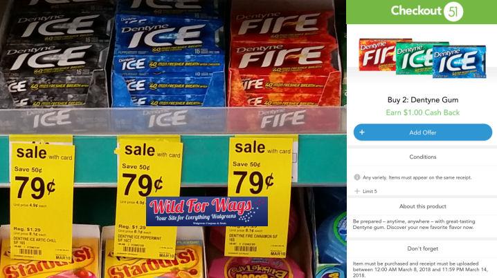 dentyne ice gum deal