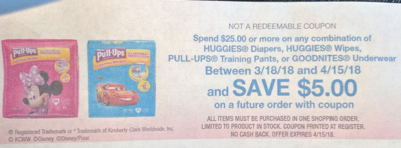 huggies rr deal
