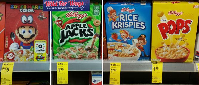 kellogg's cereals deal