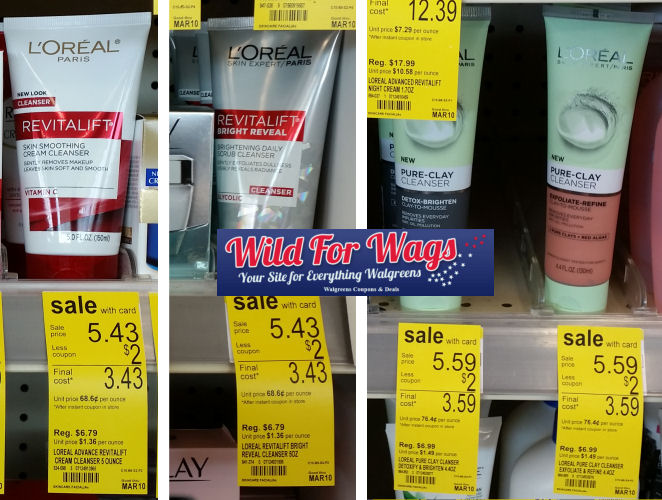 loreal facial care deals