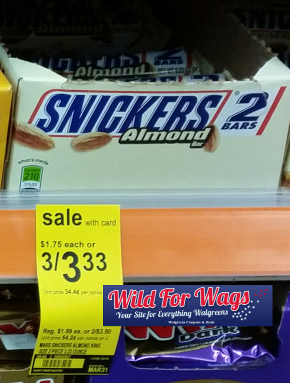 snickers to go bars deals