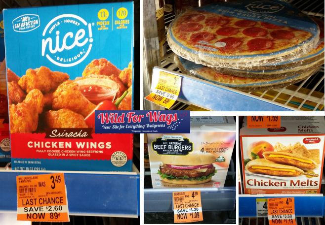 frozen food clearance deals