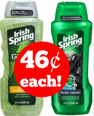 irish spring body wash deals