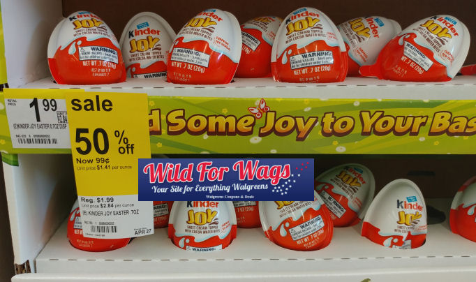 kinder joy clearance