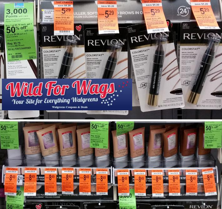 revlon clearance points deals