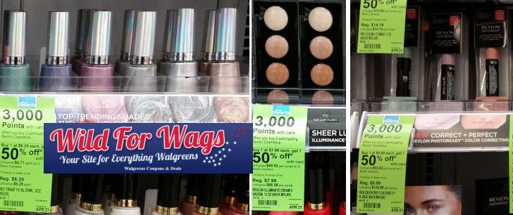 revlon cosmetics deal