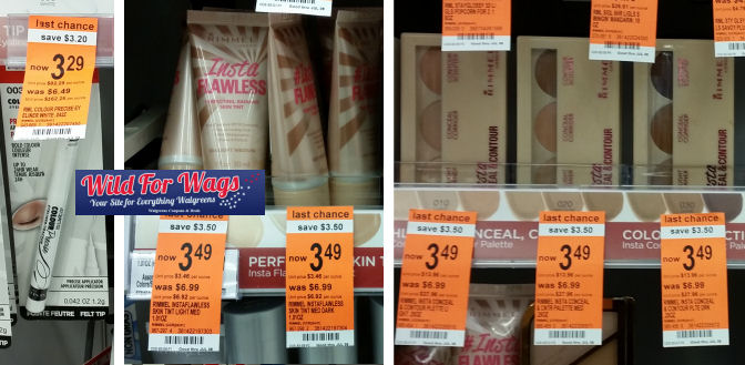 rimmel clearance deals