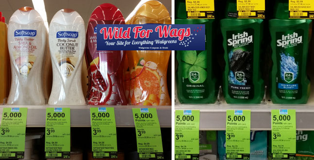 softsoap body wash deals