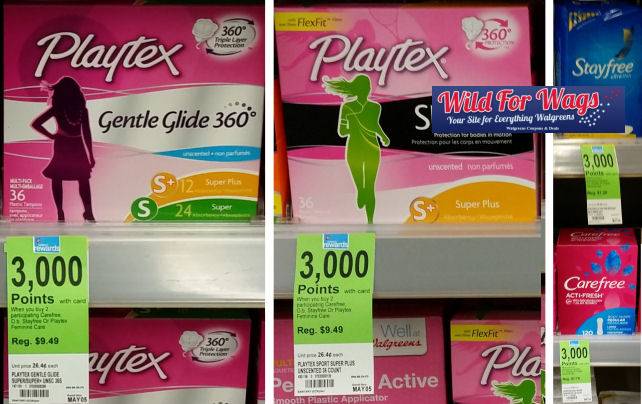 stayfree carefree playtex deals