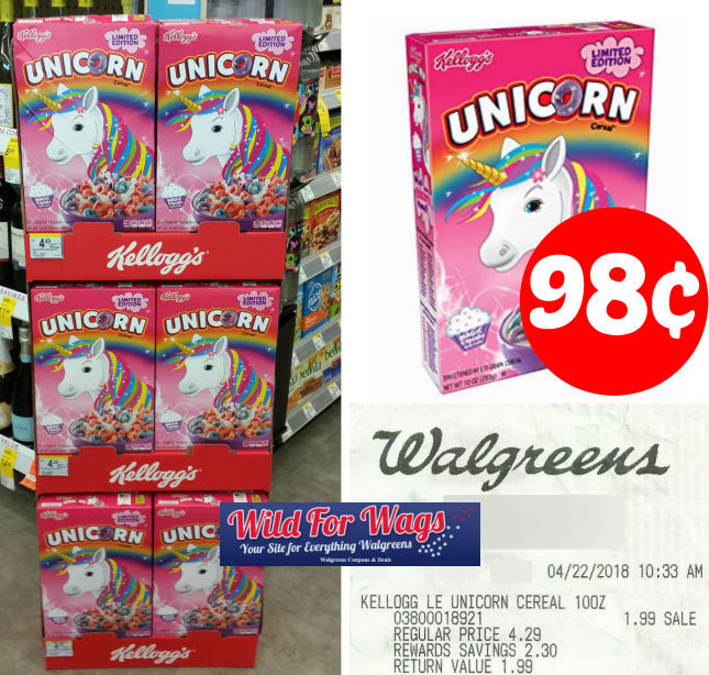 unicorn cereal deal