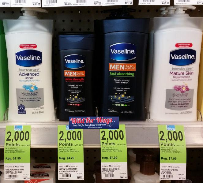 vaseline deals