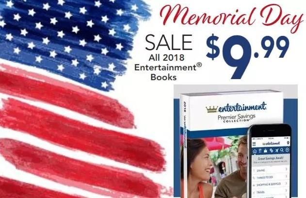 Entertainment Book Memorial Day