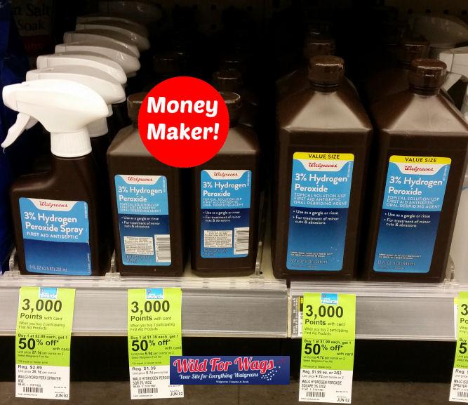 Well at Walgreens hydrogen peroxide deal