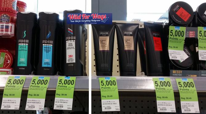 axe hair care deal