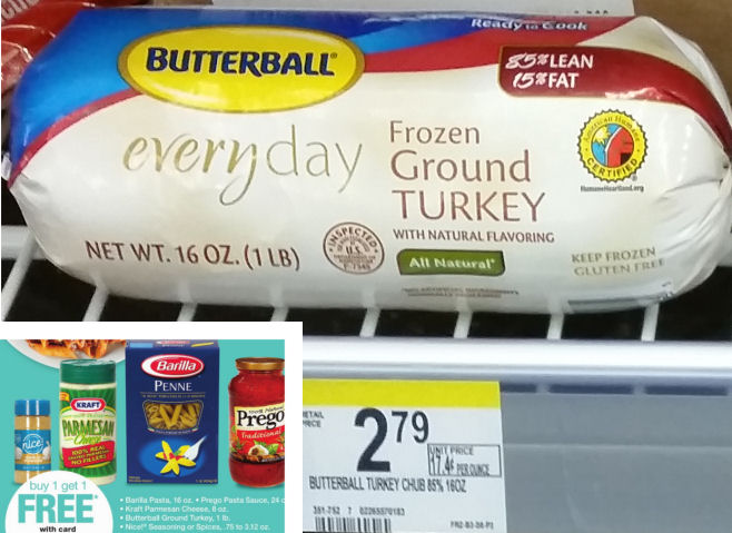 butterball ground turkey deals