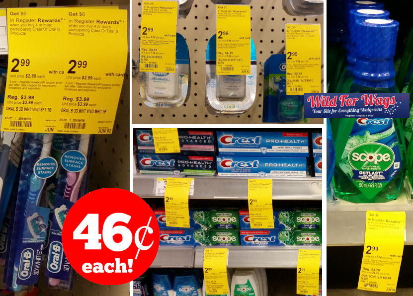 crest and oral b deal