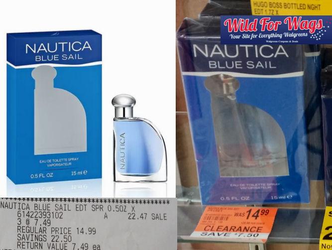 nautica blue sail clearance deal