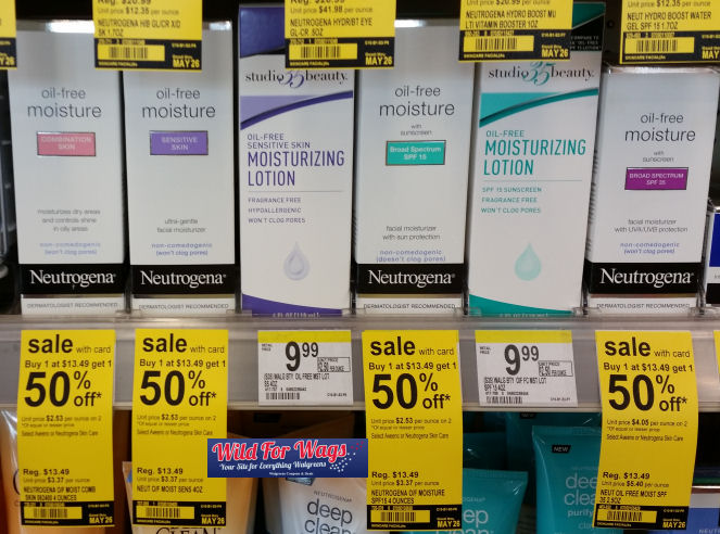 neutrogena oil free moisture deal