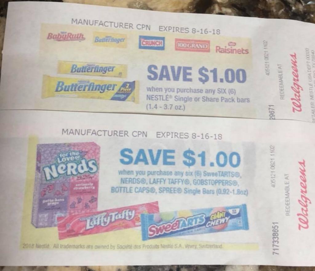 SweeTart coupons