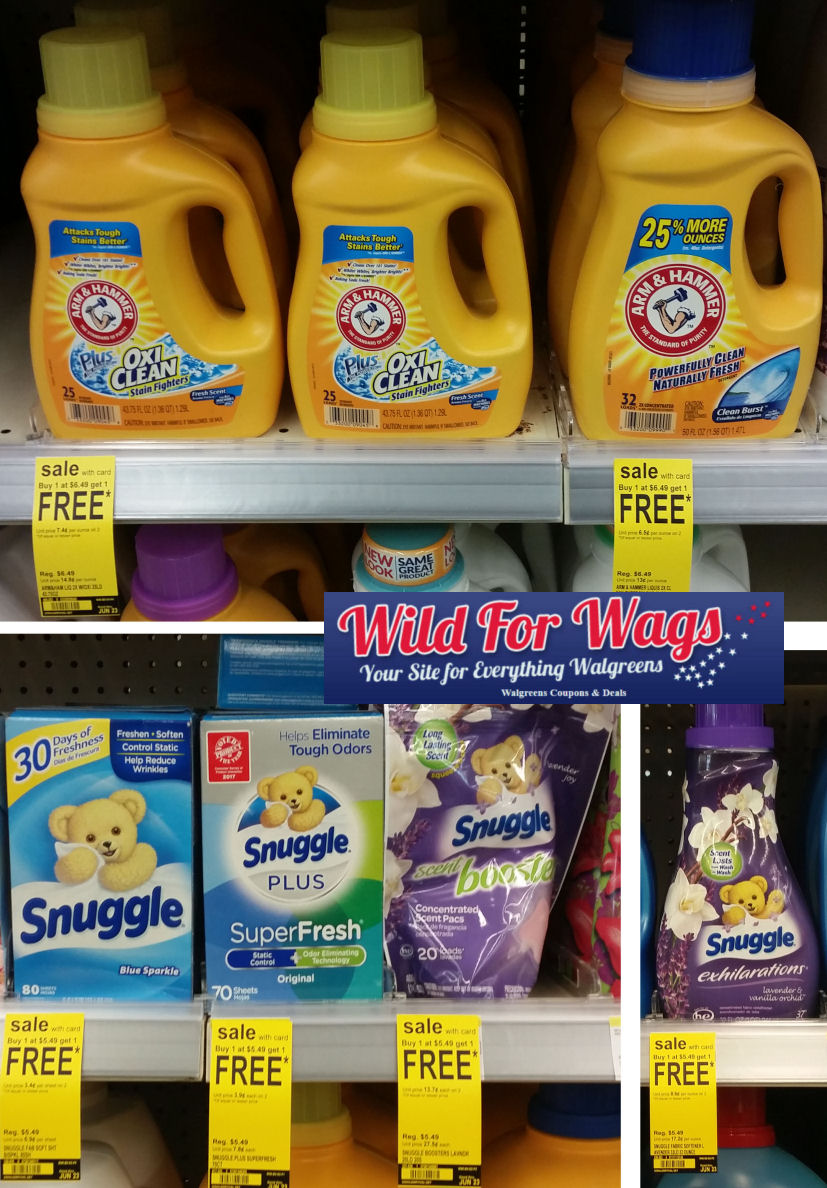 arm & hammer and snuggle deal