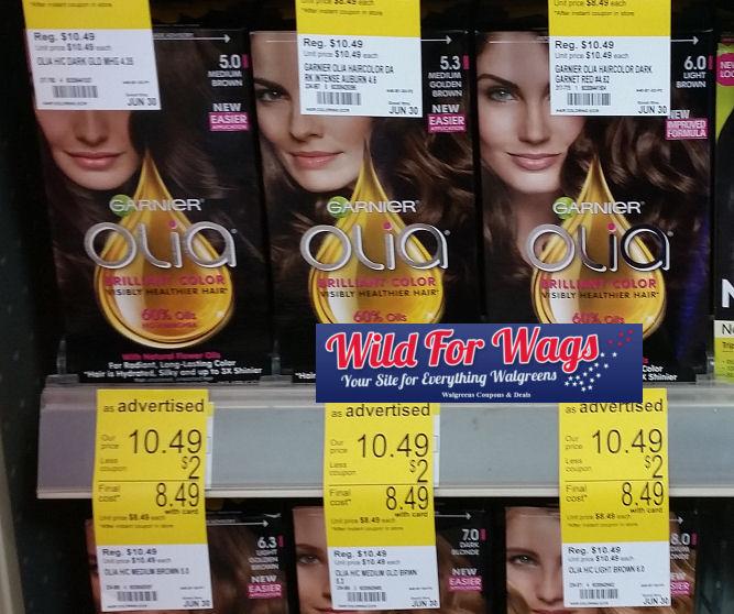 garnier olia hair color deal
