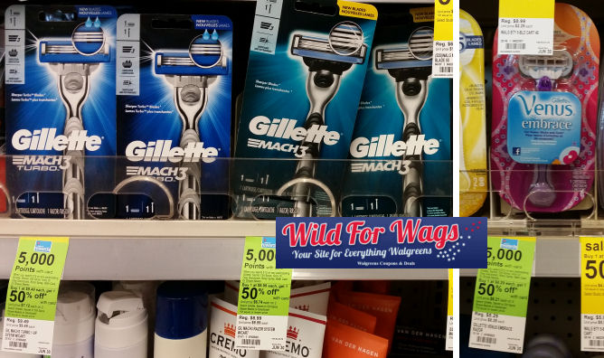 gillette and venus deals