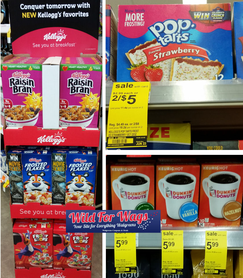 kelloggs dunkin donuts and pop tarts deal