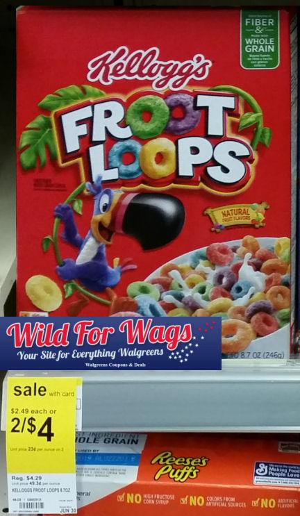 kellogg's froot loops deal