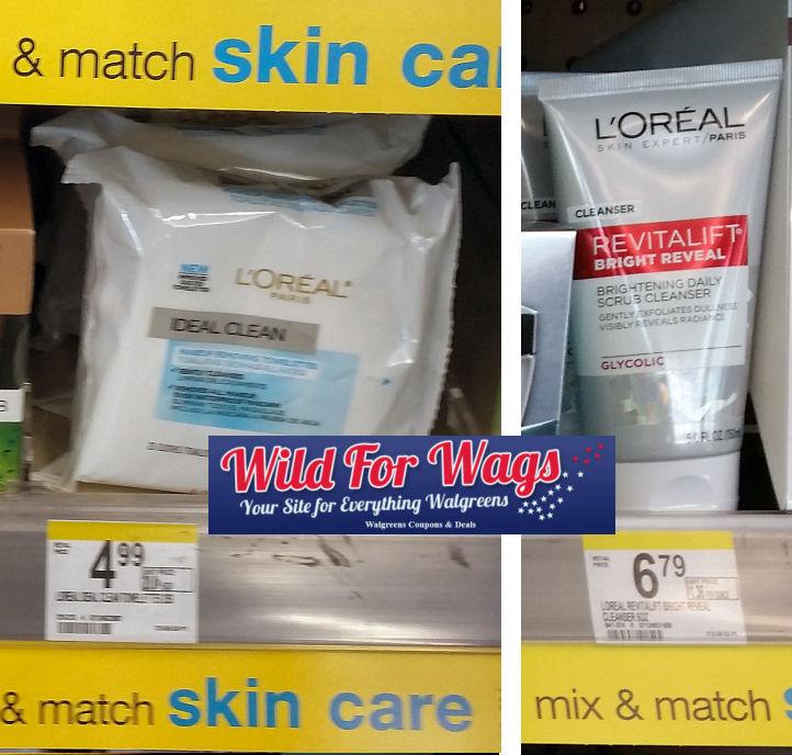 loreal skin care deals