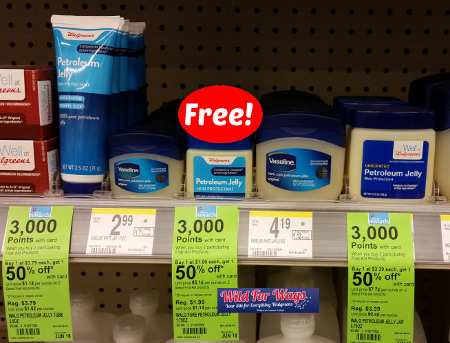 well at walgreens petroleum jelly